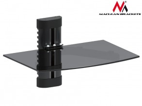 Maclean DVD shelf holder for single 8kg MC-663