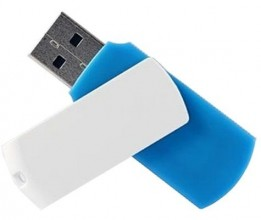 Goodram COLOUR 128GB USB 2.0 White/​Blue