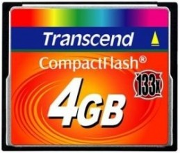 Transcend Compact Flash 4GB High Speed 133x