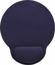 Manhattan Ergonomic Gel Mouse Pad, Blue