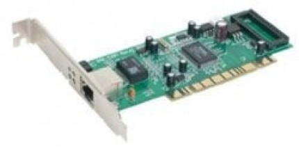 D-Link 32-Bit PCI Bus Copper (RJ45) GigabitEthernet adapter