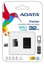 ADATA Memory card Micro SDHC 32GB UHS-I + Micro Reader