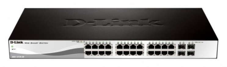D-Link 28-port 10/100/1000 Base-T with 4 x 1000Base-T /SFP ports