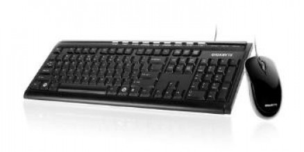 Gigabyte Keyboard KM6150 And Mouse , Black