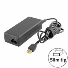 Qoltec Laptop AC Power Adapter For Lenovo Slim Tip 90W