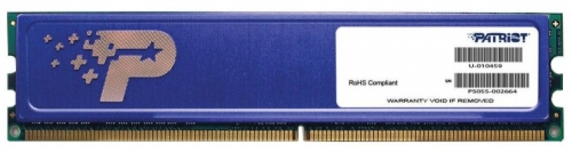 Patriot 2GB 800MHz DDR2 CL6 DIMM PSD22G80026H