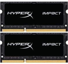 Kingston 16GB 1866MHz DDR3 CL11 HyperX Impact SODIMM KIT OF 2 HX318LS11IBK2/16