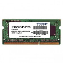 Patriot Signature 4GB 1600MHz DDR3 CL11 SODIMM PSD34G16002S