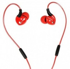 iBOX S1 Sport Audio Mobile Headphones Red/​Black