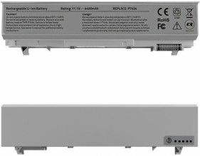 Qoltec Long Life Notebook Battery Dell Latitude E6400 E6500 | 11.1 V | 4400 mAh