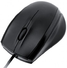 I-BOX OPTICAL MOUSE CROW, USB BLACK