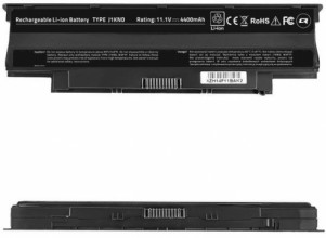 Qoltec Long Life Notebook Battery - Dell Vostro 13R , 10.8-11.1 V | 4400 mAh