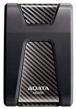 External HDD Adata Durable HD650 1TB USB3 Black, Shock and scratch proof