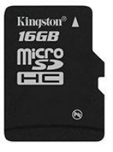 Kingston Micro SDHC 16GB Class 4 without Adapter