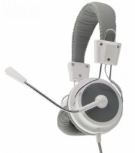 ESPERANZA Stereo Headset with microphone and volume control EAGLE EH154W WHITE