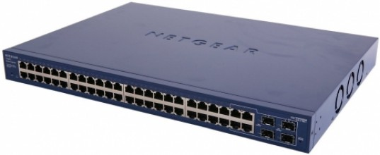 Netgear ProSafe Smart 48-Potr GbE Switch, 4xSFP (GS748T v5)