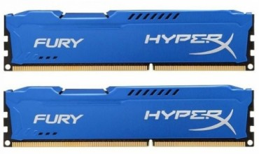 Kingston 16GB 1600MHz DDR3 CL10 DIMM (Kit of 2) HyperX Fury Series