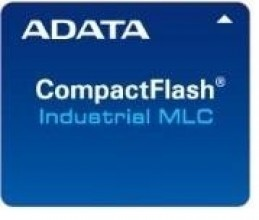 Memory card Adata Industrial CF 8GB, MLC, -40 to +85C