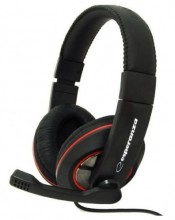 ESPERANZA Stereo Headset with microphone and volume control EH118