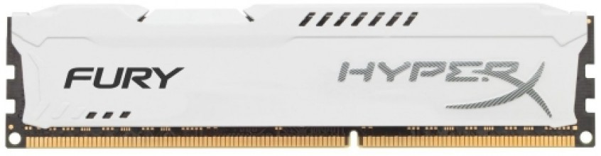 Kingston 8GB DDR3 PC12800 CL10 DIMM HyperX Fury White HX316C10FW/8