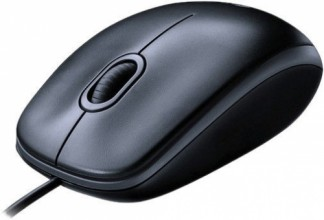 Logitech M100 Mouse Grey USB - EMEA