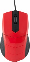 LOGIC Optical Mouse Black LM-13 USB (black-red)