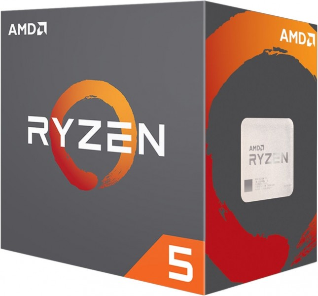 AMD RYZEN 5 2400G 3.6GHZ 4MB AM4 YD2400C5FBBOX