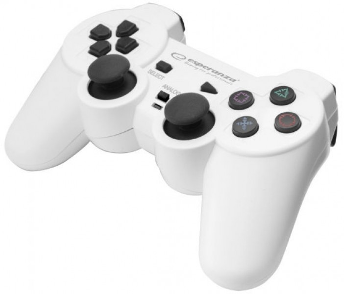Esperanza Trooper USB Gamepad White/​Black