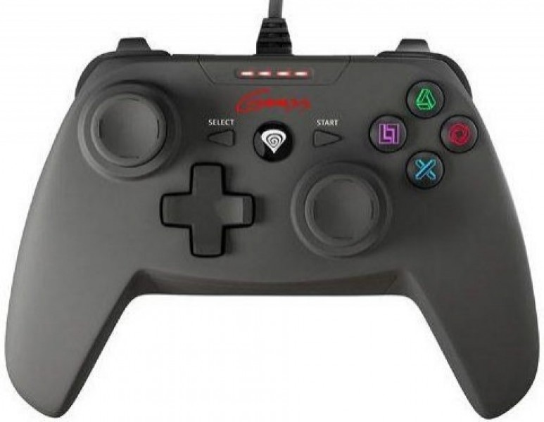 Natec Genesis P58 Gamepad Black (PC/PS3)