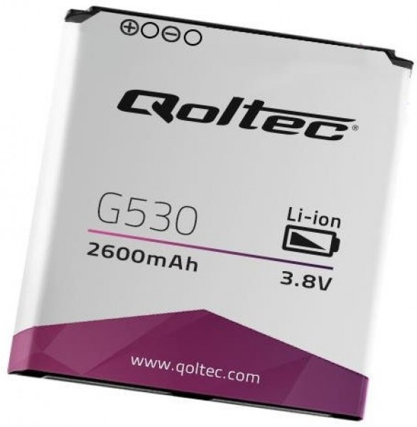 QOLTEC Battery for Samsung Galaxy J5 J500, 2600mAh