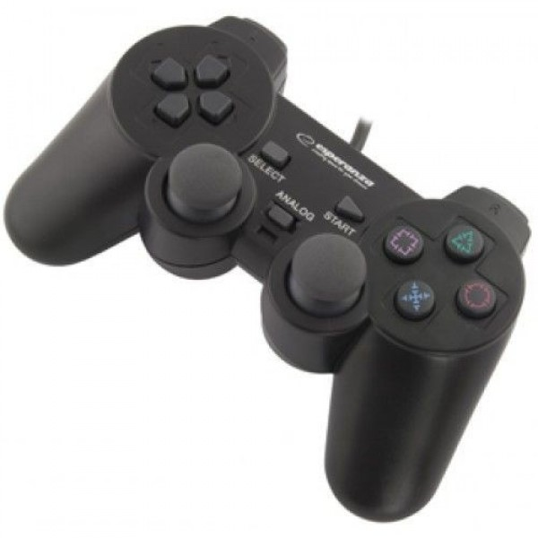 Esperanza Corsair Vibration Gamepad Wired PS3/PS2/PC