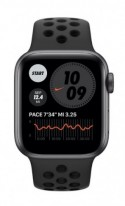 Watch Nike Series 6 GPS, 44mm Space Gray Aluminium Case with Anthracite/Black Nike Sport Band - Regular